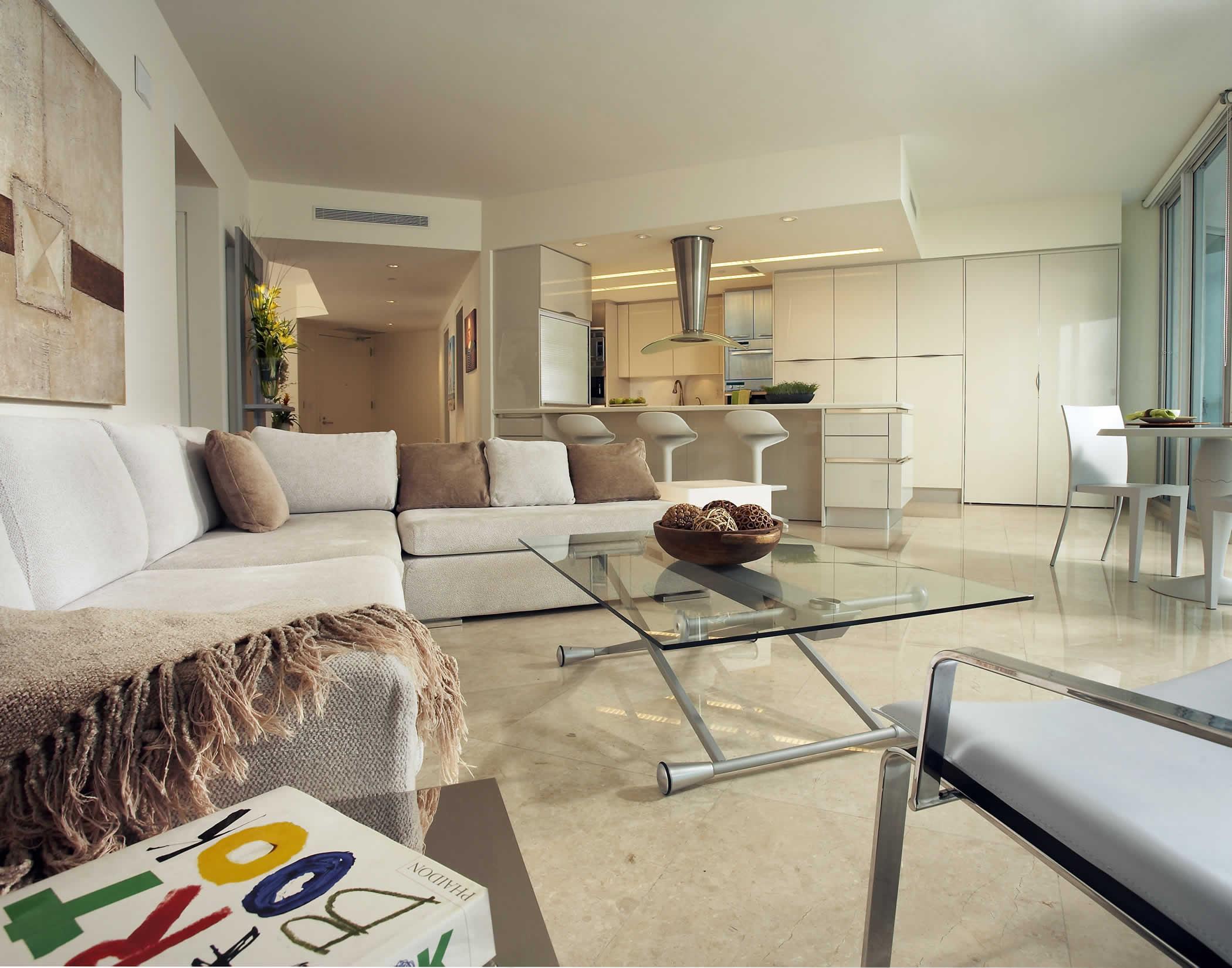 Departamento estilo contempor neo sunny isles florida for Decoracion de interiores para departamentos