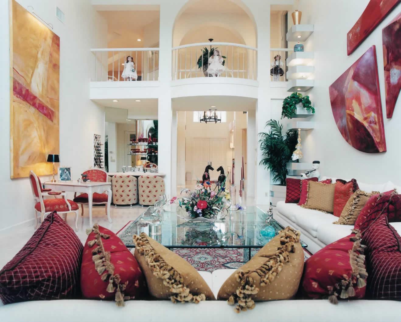 eclectic style residence boca raton florida korn